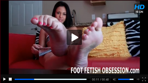 Click To Play Foot Fetish Obsession Trailer